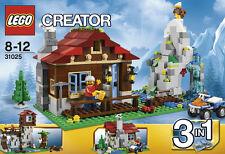 LEGO CREATOR RIFUGIO 3 IN 1  8-12 ANNI FUORI PRODUZIONE  ART 31025