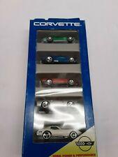 NOS Hot Wheels Diecast Cars Corvette Gift Set 5 Pack 15070