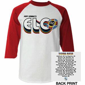 E.L.O: 'World Tour 2018' Raglan *Official Deadstock Merchandise Last Few Left*