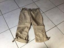 Pantalon Pantacourt BURBERRY taille 12 Ans beige bon état