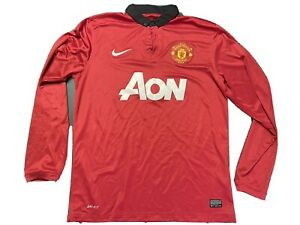 Manchester United Jersey Mens L