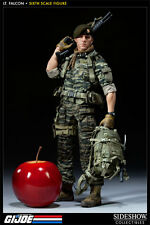 "Green Beret Lt. Falcon G.I. Joe Exclusive Military Army 12"" Figur Sideshow"