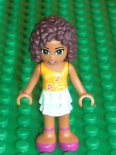 Personnage LEGO FRIENDS Minifig Andrea / Set 3061 30100 30107 41110 10727 41309