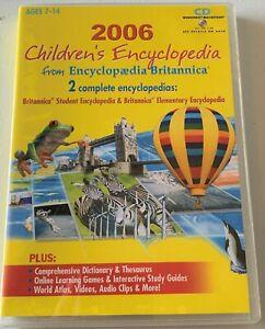 Bulk Buy - 25 x 2006 Children's Encyclopedia by Encyclopedia Britannica - New