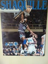 Shaq 1993 Original Poster 20x16 Orlando Magic