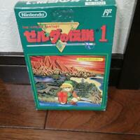 Legend of Zelda 1 Famicom Nintendo NES JP GAME