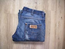 RARE Wrangler shatkey loose Bootcut Jeans w34 l32 très bon état lk512
