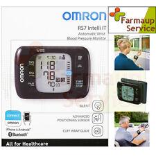 Omron RS7 Intelli IT  Misuratore Di Pressione Automatico  Da Polso