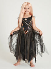 Girls Halloween Princess Prom Costume Outfit with Wig Size 5-6  Years (NEW)