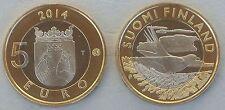 5 Euro Finnland 2014 Tiere der Provinzen - Karelien unz.
