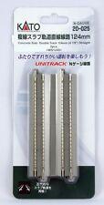 New Kato 20-025 124mm Double Slab Track Straight (2pcs)