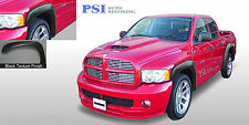 Black Textured Extension Fender Flares 02 08 Ram 1500 03 09 Ram 2500 3500 Fits More Than One Vehicle