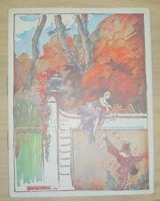 MUSIC HALL PROGRAMME THEATRE DE DIX HEURES REVUE SALUT PUBLIC! PAUL COLLINE 1930