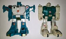 Vintage Transformers G1 Jumpstarters TopSpin & Twin Twist Action Figures Used
