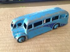 DINKY 29e - SINGLE DECK HALF CAB BUS - MID BLUE BODY & HUBS - DARK BLUE FLASHES