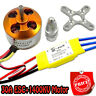 30A controller ESC+1400KV Brushless Motor A2212 for 4 Axis Multi Quadcopter