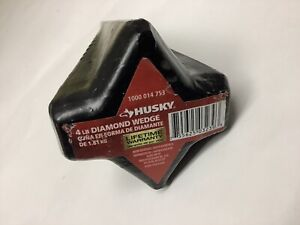 Diamond Splitting Wedge Husky 4 lb Diamond Shaped, Log Splitter, Firewood