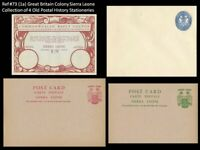 Great Britain Sierra Leone Postal History MNH - IRC Reply Coupon Card Envelope