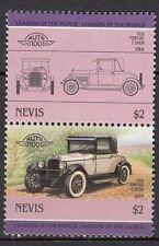 H103) Timbres Neufs MNH /NEVIS/ VOITURES-CARS-AUTOMOBILES (1926 Pontiac 2 door)