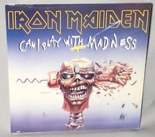 """45 7"""" IRON MAIDEN Can I Play With Madness w/PS 2014 NEW MINT IMPORT"""