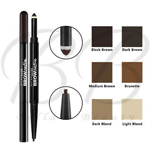 MAYBELLINE Brow Satin Eye Brow Eyebrow Duo Pencil & Filling Powder *ALL SHADES*
