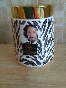 New House Of LLB Laurence Llewellyn Bowen stoneware Storage Jar Zebra print