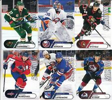 2020-21 20-21 UPPER DECK NHL STAR ROOKIES RC'S 1-25 PICK YOUR CARD