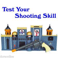 Kids Children Shooting Gun Toys Games Virtual Infrared Beam Shooting Set Pirate