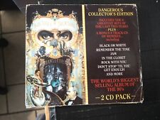 Michael Jackson ‎– Dangerous Collector's Edition + Slipcase 2 X Cd Australia