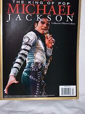 Michael Jackson The King of Pop Collector's Photo Gallery book