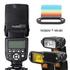 YongNuo YN560IV Flash Speedlite With Magnetic Flash Modifier Kit Selens MN-BK UK