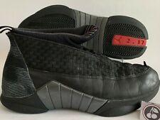 "NIKE AIR JORDAN 15 Original Size 10.5 - 1999 ""Stealth"" +FREE Sole Collector"