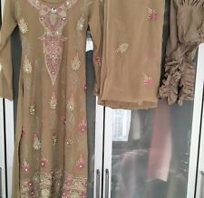 Long Kameez With Elasticated Churidaar