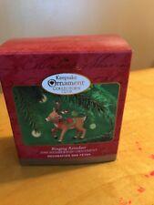 Hallmark Keepsake Ringing Reindeer Ornament Christmas Membership 2000 X
