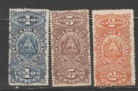 Nicaragua Revenue Fiscal Stamp mx96