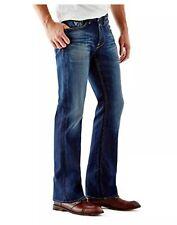 Guess Men's  Men's Regular Boot Cut Jeans In Davison Wash Size 31