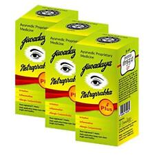 Netraprabha Plus Ayurvedic Herbal Honey Base Eye Drops - 10Ml (Pack Of 3)