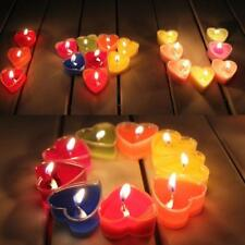 9xFragranced Romantic Lover Love Wedding Party Heart Shaped Scented Candl zzvv