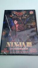 "DVD ""NINJA III LA DOMINACION"" PRECINTADO SEALED SAM FIRSTENBERG SHO KOSUGI DICKE"