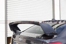 Subaru 08-18 WRX/STI Plastic Gurney Flap Add-On For STI Trunk Spoiler (ABS)