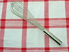"EKCO 14"" Balloon Whisk, Food-Grade Professional (18/8) Stainless Steel Japan"