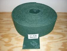 (3,19€/m) 10m Schleifvlies  3M Scotch Polieren Schleifen Edelstahl Metall grün
