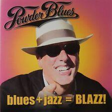 Powder Blues - Blues + Jazz = Blazz! (CD 2002 Blue Wave Records) Near MINT