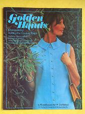 Golden Hands - Part 9, Crochet, Knitting, Dressmaking, Embroidery, Magazine