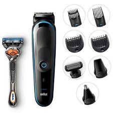 Braun 9-in-1 Beard Trimmer Nose Ear Head Hair Clipper Shaver Body Grooming Kit