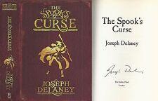 Joseph Delaney - The Spook's Curse - Signed - 1st/1st