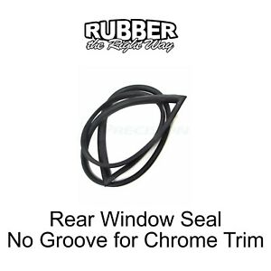 1994 - 2002 Dodge Truck Rear Window Seal - No Groove for Trim