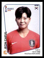 Panini Women's World Cup 2019-Jeon gaeul Corea República Nº 56