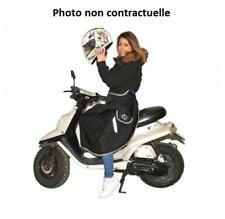 Tablier couvre jambe anti pluie et froid noir One Neuf scooter maxiscooter scoot
