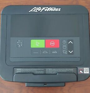 Life Fitness Integrity C Console Power Mill Excellent Condition